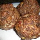 Meatloaf Muffins - Easy to make meatloaf in individually sized muffins.