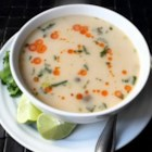 Turkey Tom Kha Gai - Use your leftover Thanksgiving turkey to make Chef John's recipe for Tom Kha Gai, the spicy Thai coconut soup packed with flavor!