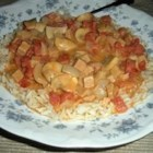 Ground Nut Stew - A spicy chicken stew filled with rich peanut flavor! Serve it over rice or couscous.