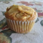 Banana Muffins with a Crunch - This is a banana muffin with a crunch, with walnuts, granola, and coconut. Very tasty!