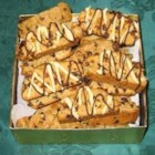 Espresso Biscotti - Espresso-flavored biscotti are full of fruit, nuts, chocolate chips and spices for a perfect holiday treat.