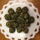 Delicious Herbed Spinach and Kale Balls - Spinach and kale balls with just enough seasoning are a delicious snack or appetizer that everyone in the family will love.