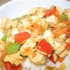 Tasty Chicken - A basic stir fry of chicken and vegetables with soy sauce and herbs proves that a minimalist approach can yield a tasty result.