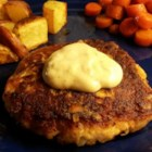 Salmon Cakes for One - This salmon cake recipe made with 7 simple ingredients is quick and easy to prepare and serves 1 or 2 people.