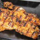 Thai Chicken Satay - The closest to my favorite satay served at my Thai restaurant. Prep is quick- best if left to marinade for a few hours or more.  Skewer up for the grill or saute on the stove! I buy the chicken tenderloin strips which are already boned, skinned and a nice size piece without slicing to save time.