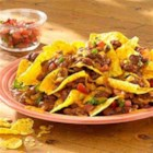 Chili Nachos - Kick up the heat when you serve these fantastic nachos.