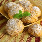 Italian Pine Nut Cookies - Italian pine nut cookies, also known as pignoli cookies, are rolled in a corn flake coating creating a crispy, traditional Italian treat.