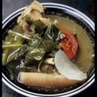 Sinigang na Baka - A simple Filipino beef and vegetable soup in a sour tamarind base that we eat over rice! A meal in itself!