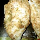 Simple Ranchy Breaded Fish Fillets - Tender tilapia fillets are lightly coated in a Ranch dressing paste and seasoned breadcrumbs, and pan-fried in butter until golden brown.