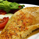 Simple Baked Chicken Breasts - Simple baked chicken breasts seasoned with a little salt and Creole seasoning is quick and easy to prepare for weeknight dinner.