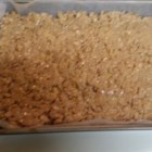 Peanut Butter Crispies I - No bake peanut butter bars for the peanut butter fanatic.