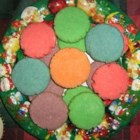 Christmas Pastels - These can be any flavor you want, the kids go nuts for them