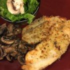 Healthier Broiled Tilapia Parmesan - A quick and easy meal, this healthier version of tilapia uses light mayonnaise and less butter.