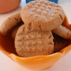 Three Ingredient Peanut Butter Cookies - This recipe has just 3 ingredients. It's fast, easy and the cookies are wonderful! It's great for kids that are just learning to bake.