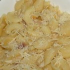 Missy's Lazy Day Pasta - Green onions and tomato are sauteed with chicken broth and garlic.  The light, fresh fare is tossed with spaghetti and served with Parmesan cheese.