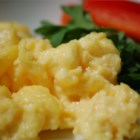 Scrambled Eggs Done Right - The right way to scramble eggs. There is more to just mixing eggs and cooking! This will make a believer out of you.