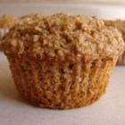 Oat Bran Muffins - This is not OATMEAL, but oat BRAN muffins.  I have made these for about five years now, and I really love them.  They are great made with cinnamon or cranberry applesauce, as well as plain applesauce. My daughter loves them and I hope you will enjoy them, too!
