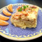 Staci's Strata - This delicious breakfast casserole will have your guests screaming for the recipe!  Great for those wedding brunches and Sunday morning gatherings with friends and family.  So easy to make...and you save time by doing it the night before.