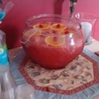 Floating Island Punch - Wonderful punch for baby and bridal showers. Cherries and orange slices float on top like islands.