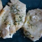 Lemon Pepper Dill Fish - Haddock filets seasoned with lemon pepper and dill weed, then cooked in butter and lemon juice.