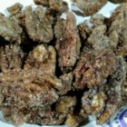 Old-Fashioned Roasted Pecans - Oven-toasted pecans made Southern-style with a light coating of sugar, cinnamon and a bit of salt, are a treat at Christmas or any time of the year.