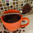 Chocolate Cake in a Mug - Pack as much chocolate as possible into your individualized dessert using this quick and easy recipe for chocolate cake in a mug.