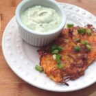 Carrot Fritters - Carrots, onion and green onions are coated in a thin batter and fried.  This is a crispy treat that's great on its own, or with your favorite sauce.