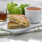 Vermont Style Grilled Cheese - Sausage and apple slices bring a new flavor dimension to a grilled cheese sandwich.