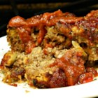 The Creek's Meatloaf - Incredibly flavorful meatloaf made with ground sirloin, onion, green peppers, and BACON!