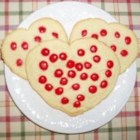 Red Hot Sugar Cookies - Perfect for Valentine's Day or any day you want to give someone a special red hot treat!!