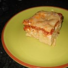 Patty's String Pie - Spaghetti, sauce, ground beef, and Italian cheeses are layered in an easy-to-make casserole that tastes a lot like lasagna.