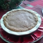 Pear Pie - This tasty pear pie is a change of pace from other fruit pies with the filling made of sour cream and pear slices that are topped with a layer of streusel.