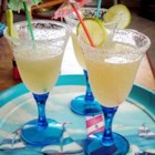 Lime Daiquiri - A simple Daiquiri recipe. You may omit rum to make a virgin equivalent, or change to another fruit concentrate.