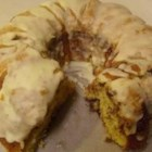 Honey's Butter Cake - It's a good sour cream Bundt cake - I add cinnamon to give it a special taste.