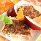 Apple-Cheese Tart - Use prepared pie crust and apple pie filling to take some of the work out of making a cheesy apple tart for a delicious dessert.