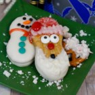 Wanna Build a Snowman Cookie? - Snowman cookies, made with Nutter Butter(R) cookies coated in white chocolate, are decorated with sprinkles for a fun and festive treat during the winter months.