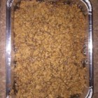Sweet Potato Crunch Casserole - Sweet potato casserole with a crunchy praline topping is a Southern take on the traditional Thanksgiving side dish. Serve warm or at room temperature.