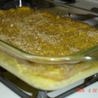 Squash Casserole I - If you're looking for a squash casserole without cheese, you've found it!  This simple recipe combines the sweet, subtle flavor of yellow squash with eggs, margarine and onion, and is topped with bread crumbs.