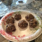 No-Bake Oatmeal Protein Bites - These protein bites are like a protein bar in the form of a ball, for a quick hit of oats, sunflower seeds, cranberries, and protein powder when you need it.