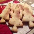 Crisp Anise Seed Butter Cookies - Crisp butter cookies flavored with anise seeds. A classic Christmas cut-out cookie.