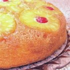 Pineapple Upside-Down Cake VII - This pineapple upside down cake is made in an iron skillet. It's quick, easy and so beautiful.