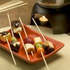Totally Groovy Chocolate Fondue - Fondue made with milk chocolate, cream, cherry brandy, coffee and cinnamon.