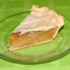 Chemical Apple Pie (No Apple Apple Pie) - Close your eyes when you eat this pie and you think you 're eating real apple pie. But, the apples in this delicious pie are really buttery crackers. It is amazing how this pie fools the taste buds.