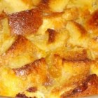 Scalloped Pineapple - Serve this pineapple bread pudding as a sweet side dish at holiday gatherings or as a dessert, anytime!