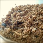 Buckwheat Granola - This lightly sweet granola with almonds, raisins, and coconut makes the perfect topping for yogurt or even ice cream. Whole grain buckwheat gives it an extra crunch.