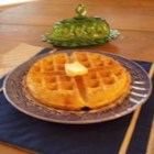 Beer Batter Waffles - Beer makes these honey-sweetened waffles light and crunchy.