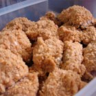 Oven Fried Chicken IV - Always a hit! People will be wanting seconds. Crispy chicken that is made lower in fat, without being soggy. You may remove the skin from the chicken if you like. Serve with Cheese Mashed Potatoes.