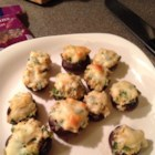 Perfect Crab-Stuffed Mushrooms - Button mushrooms stuffed with crab and Monterey Jack cheese make a delicious bite-size appetizer. Your guests are sure to be dazzled!
