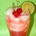 Cherry Limeade I - Extra tart cherry limeade. To reduce the tartness, stir in an additional bottle of lemon-lime soda.