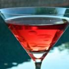 Candy Martini - A candy martini, made with berry-flavored vodka, triple sec, and peach schnapps, is a sweet addition to your next cocktail party.